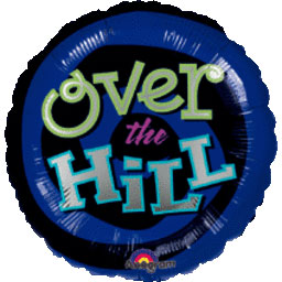 32IN. OH NO, OVER THE HILL MYL BLN(5/CS) PARTY SUPPLIES