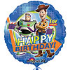 18IN. TOY STORY 3 BDAY GROUP MYLR (5/CS) PARTY SUPPLIES