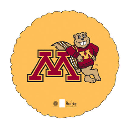 18IN. U OF MINNESOTA MYLAR BALLON (5/CS) PARTY SUPPLIES