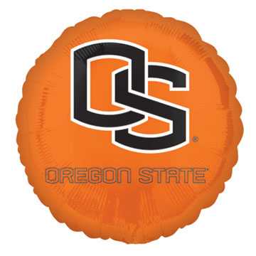 18IN. OREGON ST MYLAR BALLOON (5/CS) PARTY SUPPLIES