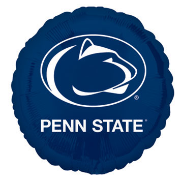 18IN. PENN STATE MYLAR BALLOON (5/CS) PARTY SUPPLIES