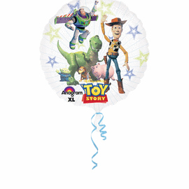 26 IN. TOY STORY SEETHRU (5/CS) PARTY SUPPLIES