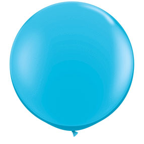 36IN. ROBINS EGG BLUE BALLOON (2CT/PKG) PARTY SUPPLIES