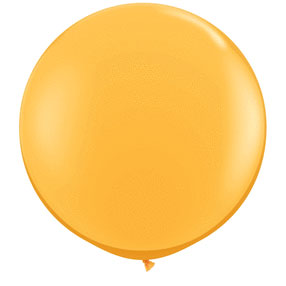36IN. GOLDENROD BALLOON BLN (2CT/PKG) PARTY SUPPLIES