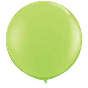 36IN. LIME GREEN BALLOON BL (2CT/PKG) PARTY SUPPLIES