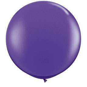 36IN. PURPLE VIOLET BALLOON  (2CT/PKG) PARTY SUPPLIES