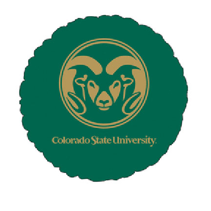 18IN. COLORADO ST MYLAR BALLOON (5/CS) PARTY SUPPLIES