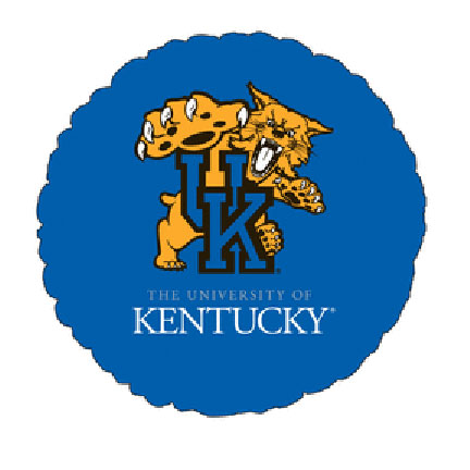 18IN. UNIV OF KENTUCKY MYL BLN (5/CS) PARTY SUPPLIES