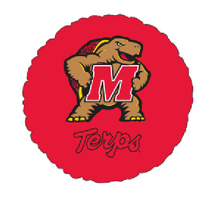 18IN. UNIV OF MARYLAND MYL BLN (5/CS) PARTY SUPPLIES