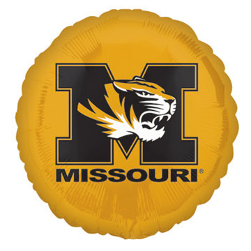 18IN. U OF MISSOURI MYLAR BALLOON (5/CS) PARTY SUPPLIES