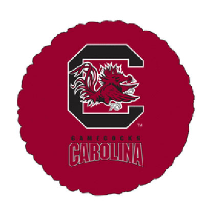 18IN. UNIV OF S CAROLINA MYL BLN (5/CS) PARTY SUPPLIES