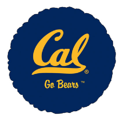 18IN. U OF CALIFORNIA MYL BLN (5/CS) PARTY SUPPLIES