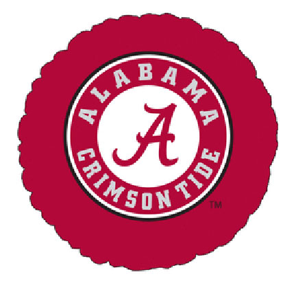 18IN. U OF ALABAMA MYLAR BALLOON (5/CS) PARTY SUPPLIES