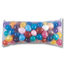 Click for larger picture of BALLOON DROP BAGS 3FT. X 7FT. PARTY SUPPLIES
