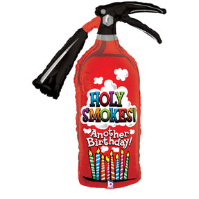 43IN. OTH FIRE EXTINGUISHER SHP ML(5/CS) PARTY SUPPLIES
