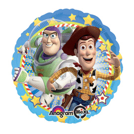 18 IN. WOODY & BUZZ (5/CS) PARTY SUPPLIES
