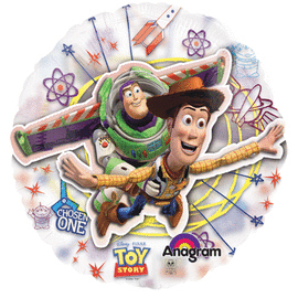 26 IN. TOY STORY SEE-THRU (5/CS) PARTY SUPPLIES
