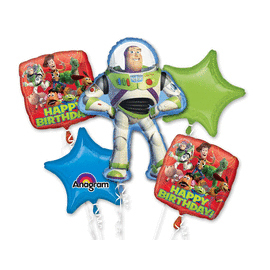 BOUQUET TOY STORY GANG BIRTHDAY (5/CS) PARTY SUPPLIES