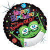 18IN. TOADALLY OLD MYLAR BALLOON (5/CS) PARTY SUPPLIES