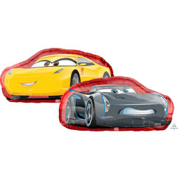 Click for larger picture of 35IN CARS CRUZ JACKSON JUMBO BALLN(5/CS) PARTY SUPPLIES
