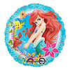 DISCONTINUED LITTLE MERMAID MYLAR 18