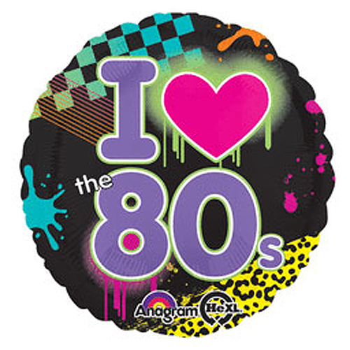 1980s theme party supplies totally 80s mylar balloon for 1980s party decoration ideas