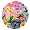 TINKERBELL BIRTHDAY WISHES MYLAR PARTY SUPPLIES