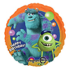 DISCONTINUED MONSTERS U BD MYLAR BALLOON PARTY SUPPLIES
