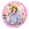 SOFIA THE 1ST BDAY MYLAR BALLOON PARTY SUPPLIES