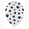 PAW PRINT LATEX BALLOONS (10CT) PARTY SUPPLIES