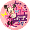 DISCONTINUED MINNIE MOUSE SOUVENIR PLATE PARTY SUPPLIES