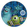 DISCONTINUED MONSTERS U SOUVENIR PLATE PARTY SUPPLIES