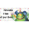 PERSONALIZED MONSTER BANNER PARTY SUPPLIES