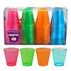 2OZ. NEON SHOT GLASS ASSORTED COLORS 60/ PARTY SUPPLIES