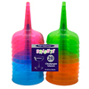 4OZ NEON CHAMPAGNE CUPS ASST (20/PKG) PARTY SUPPLIES