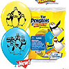 PENGUINS OF MADAGASCAR LATEX BALLOONS PARTY SUPPLIES
