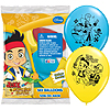 JAKE NEVER LAND PIRATES LATEX BALLOONS   PARTY SUPPLIES
