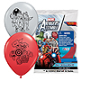 AVENGERS ASSEMBLE PRINTED LATEX BALLOONS PARTY SUPPLIES