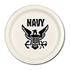 US NAVY DESSERT PLATE (8/PKG) PARTY SUPPLIES