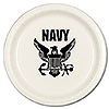 US NAVY DINNER PLATE (8/PKG) PARTY SUPPLIES