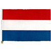 NETHERLANDS HANDHELD FLAG (4X6 IN.) PARTY SUPPLIES