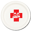 NURSE DINNER PLATE 8/PKG PARTY SUPPLIES