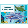 OCEAN PARTY CUSTOMIZED PLACEMAT PARTY SUPPLIES
