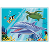 OCEAN PARTY PLACEMAT PARTY SUPPLIES