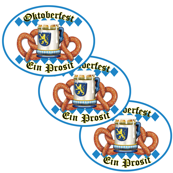 OKTOBERFEST DECO FETTI PARTY SUPPLIES