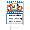 OKTOBERFEST PERSONALIZED YARD SIGN PARTY SUPPLIES
