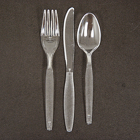 bulk clear plastic plates cutlery party supplies clear plastic