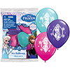 FROZEN PRINTED LATEX BALLOONS 6/PK PARTY SUPPLIES