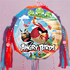 ANGRY BIRDS PULL STRING PINATA PARTY SUPPLIES