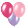 PINK, HOTPINK, LAVENDER BALLOONS (SOLID) PARTY SUPPLIES